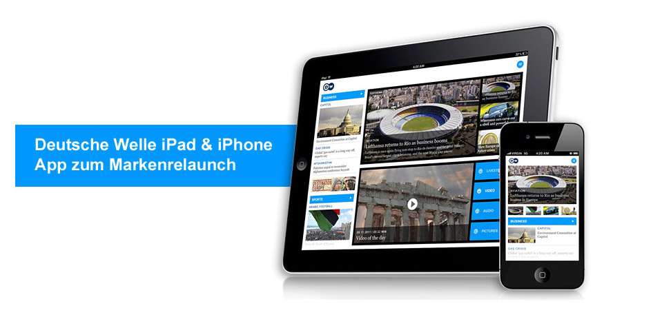 Deutsche Welle – app with Livestream functionality | Divine