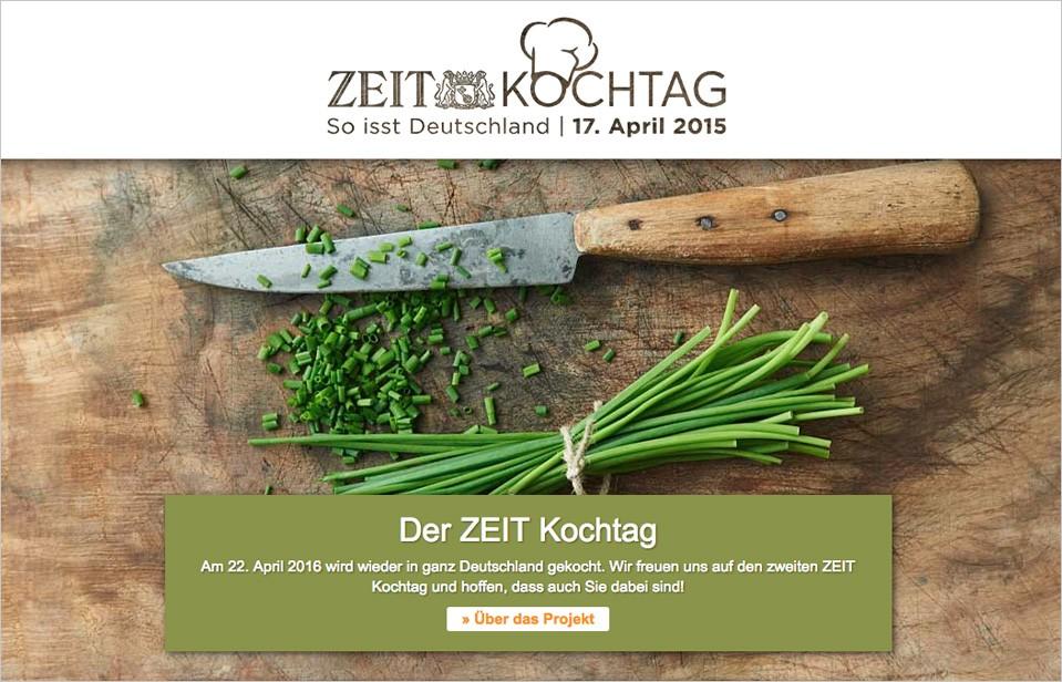der zeit kochtag inspiriert ganz deutschland zum kochen und genie en divine. Black Bedroom Furniture Sets. Home Design Ideas
